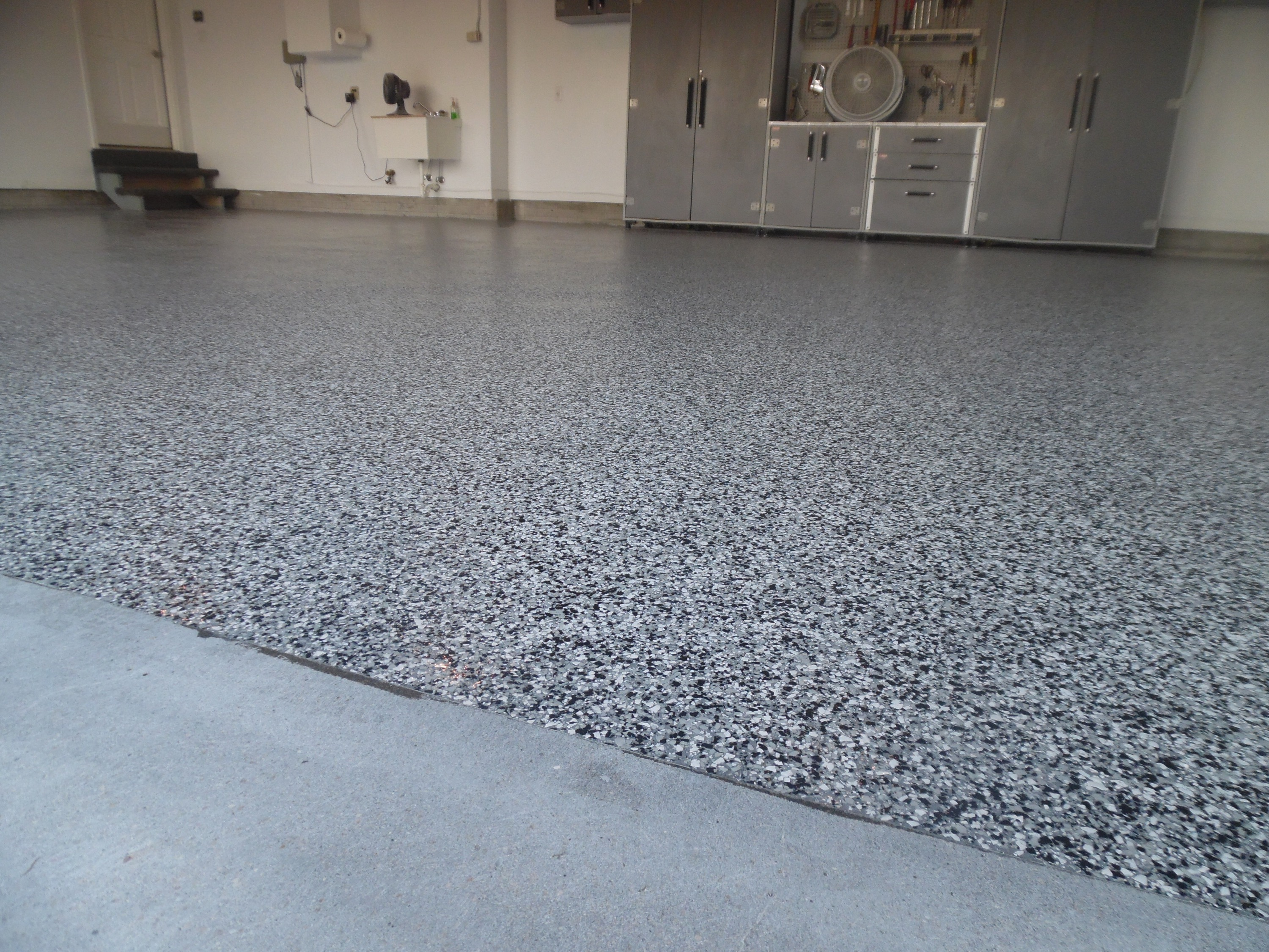 Garage floor coating garage revolution for Garge floor