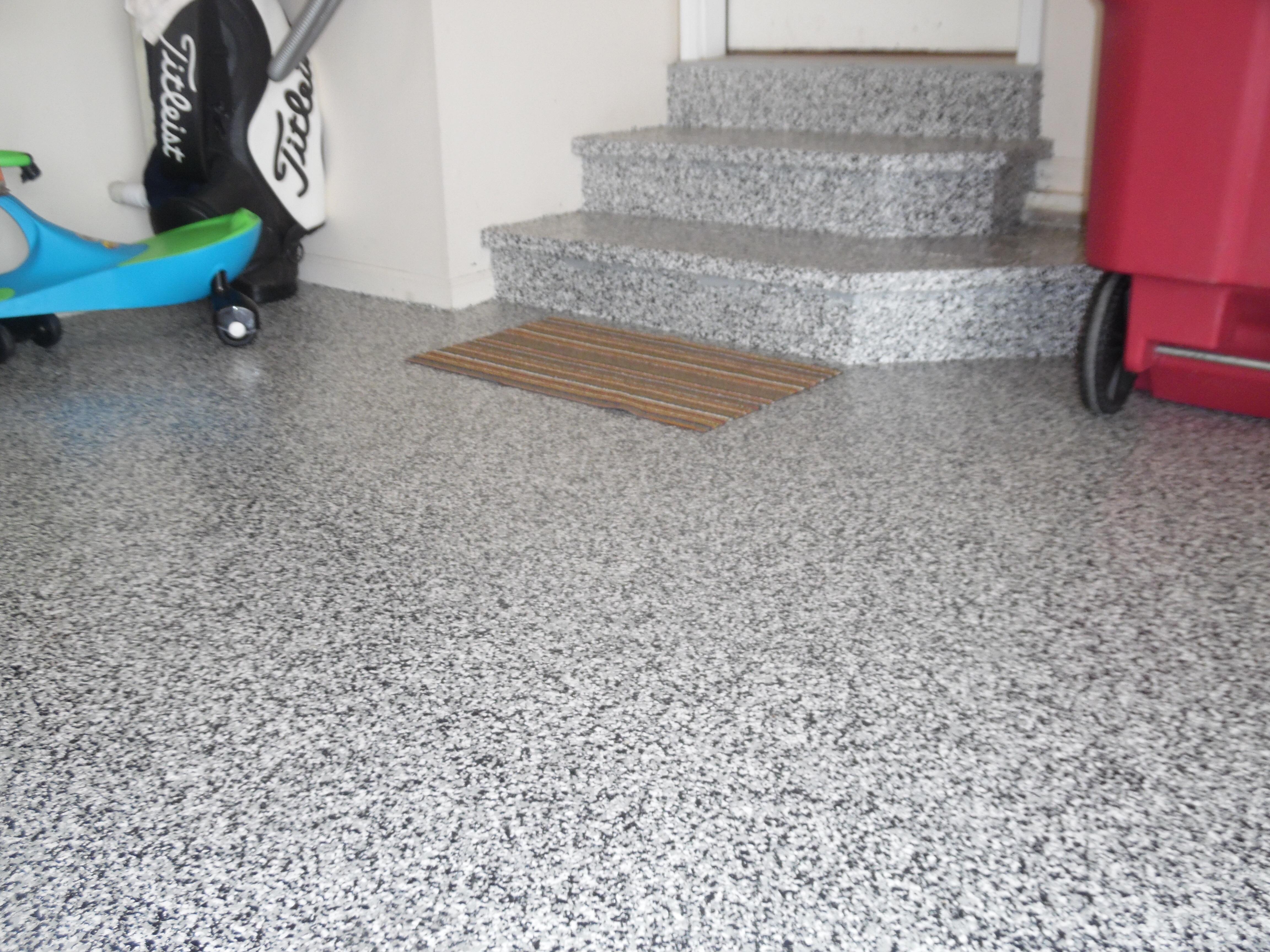 Epoxy Garage Floor : Epoxy garage floor coating garage revolution