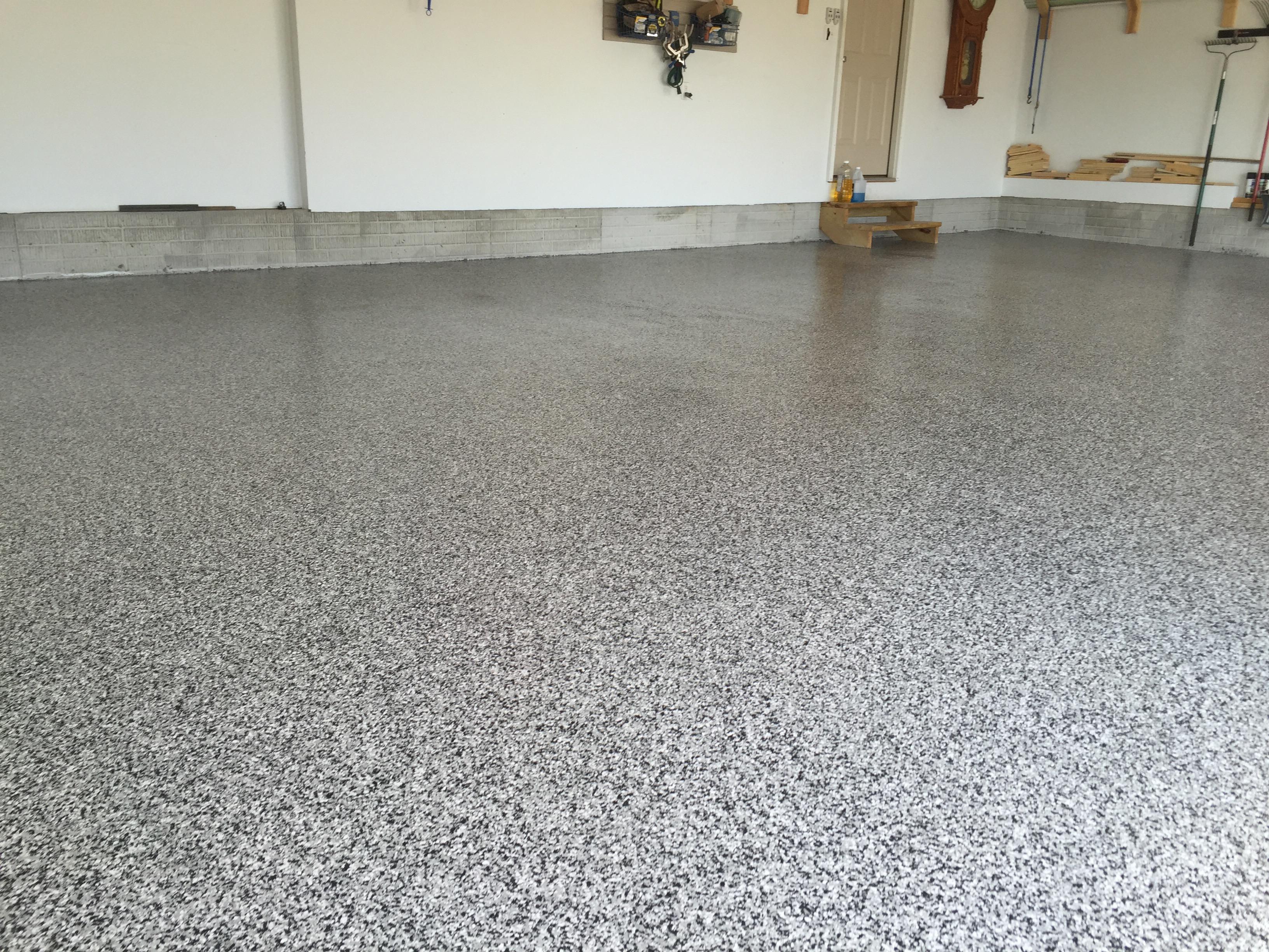 Best color for a garage floor gurus floor for Garage floor