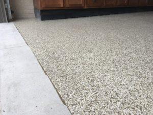 garage floor Omaha