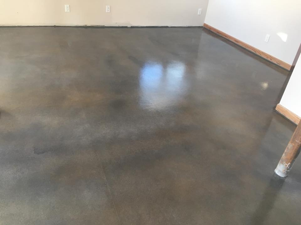 stained concrete omaha